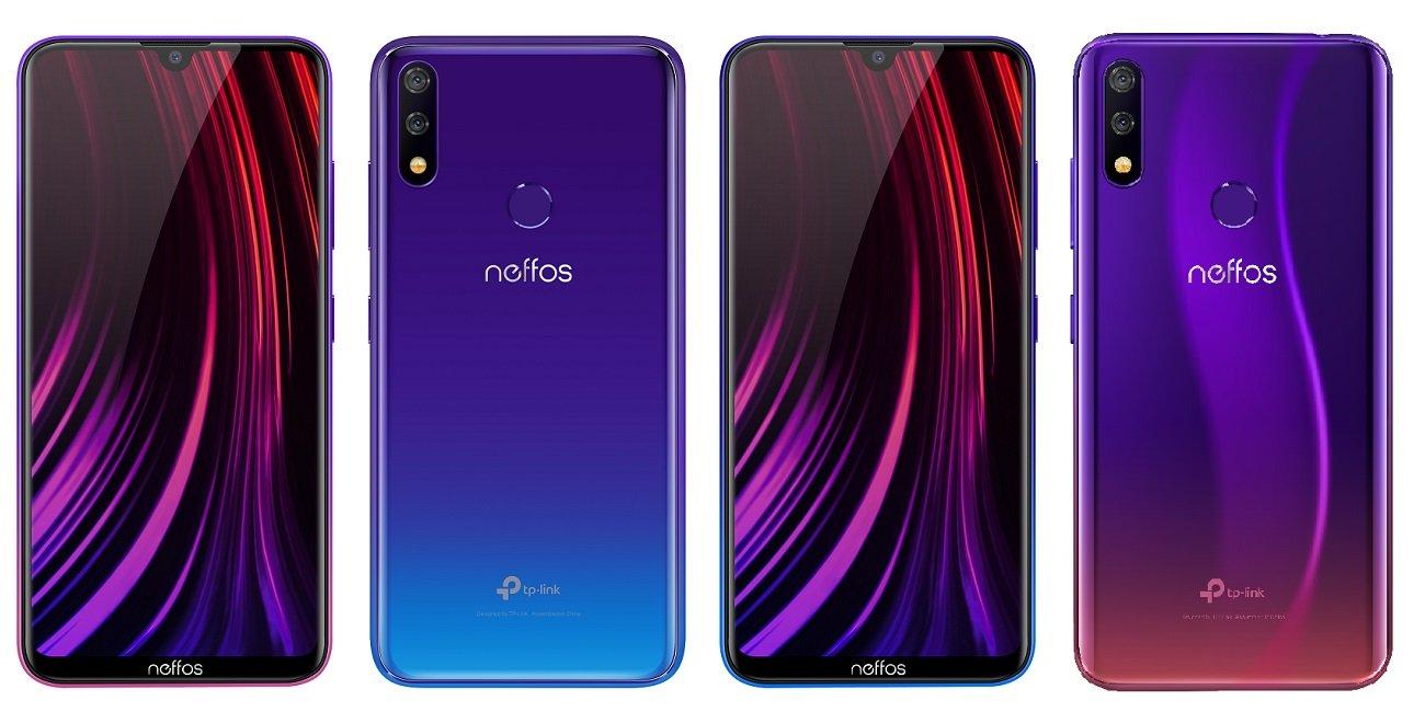 Neffos X20 y X20 Pro, los smartphones con mini notch y 4.100 mAh de batería de TP-Link