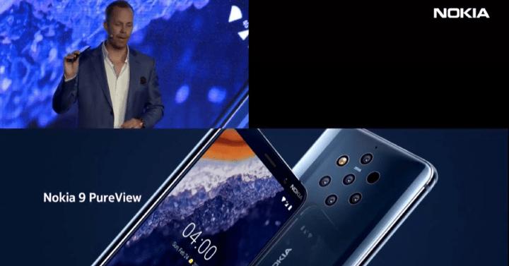 Imagen - Nokia 9 PureView es oficial, un Android One con lector de huellas en pantalla y 5 cámaras