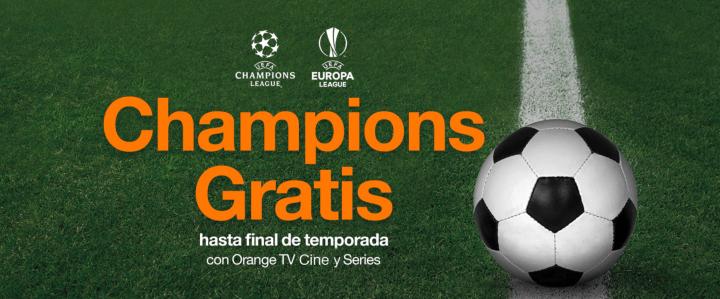 Imagen - Orange ofrece la Champions y Europa League a sus clientes de televisión
