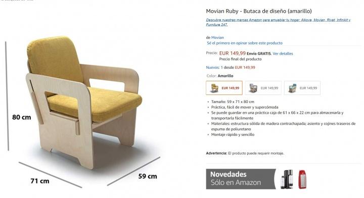 Imagen - Amazon lanza su línea de muebles en España para competir con Ikea