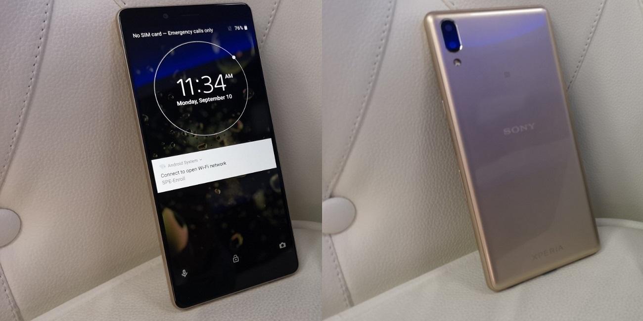 Sony Xperia L3 es oficial con cámara principal dual y 3.300 mAh de batería