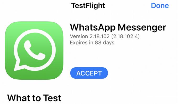 Imagen - Cómo instalar WhatsApp beta para iPhone desde la App Store