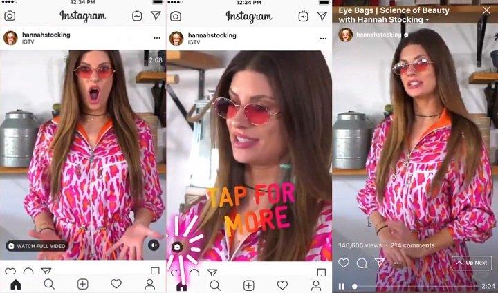 Imagen - Instagram mostrará los vídeos de IGTV en el timeline
