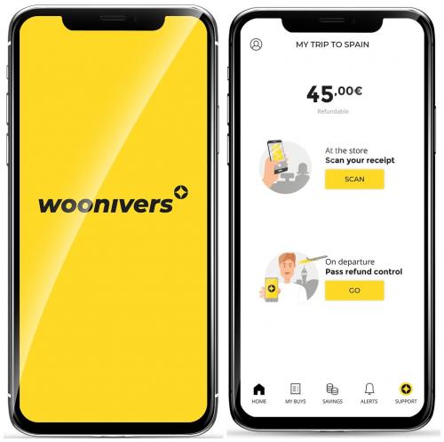 Imagen - Woonivers, la app que facilita la gestión digital de devolución del IVA a viajeros