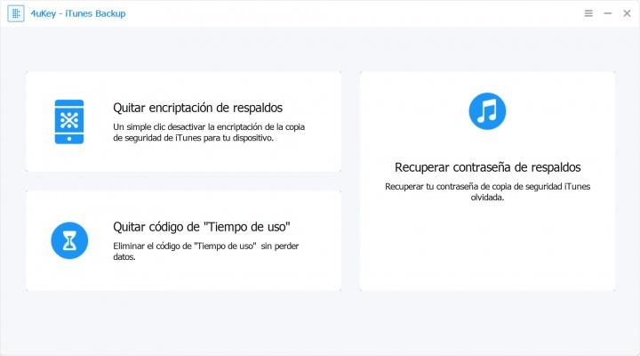 Imagen - 4uKey - iPhone Backup Unlocker, elimina la contraseña de tu copia de seguridad de iTunes