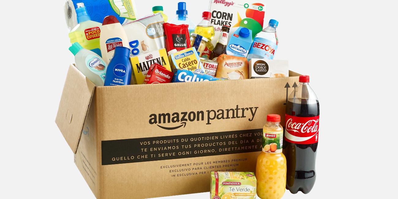 Amazon Pantry cambia de precios: 5 euros de envío sin límite de cajas