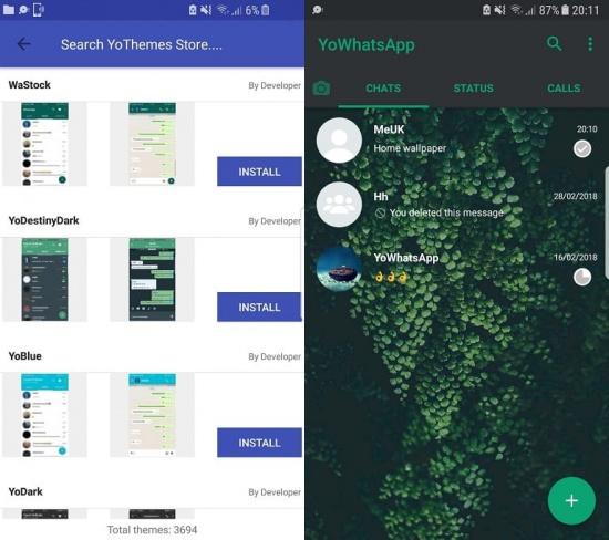 Imagen - Descarga YoWhatsApp 7.90, la nueva versión del mod de WhatsApp