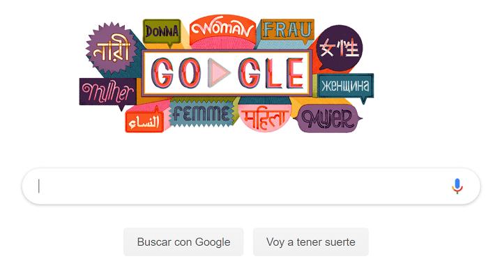 Imagen - Google lanza un Doodle por el Día Internacional de la Mujer 2019