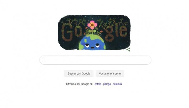 Imagen - Google celebra el equinoccio de primavera de 2019 con un Doodle