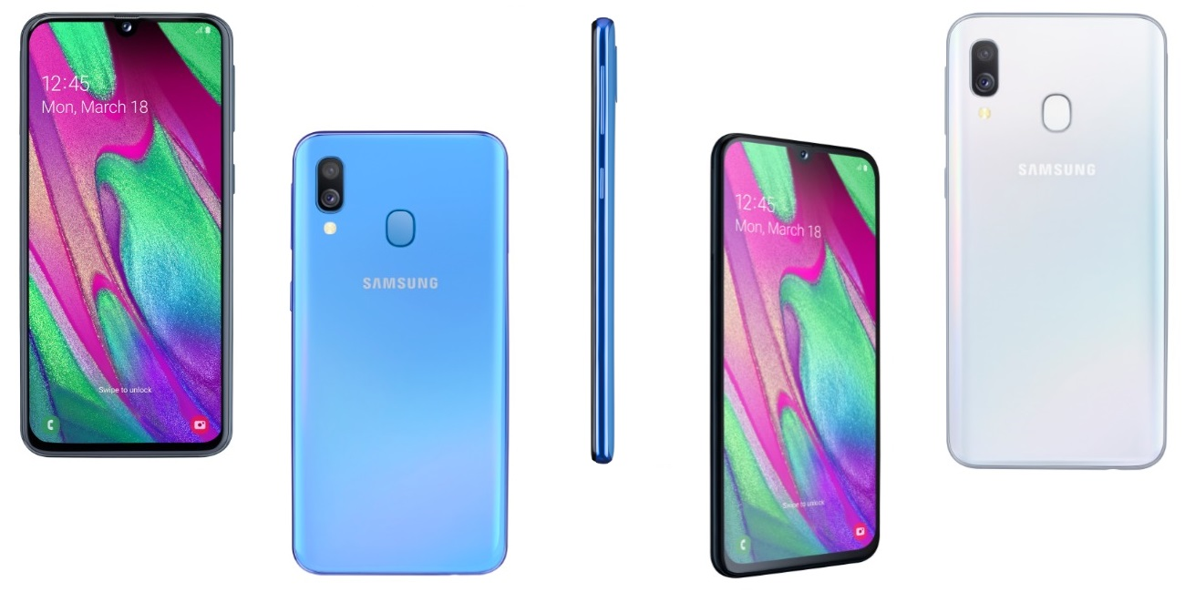 Samsung Galaxy A40, un gama media con cámara dual y batería de 3.100 mAh