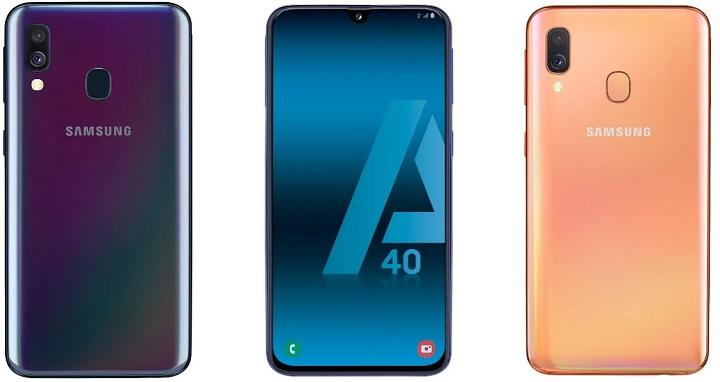 Imagen - Samsung Galaxy A40, un gama media con cámara dual y batería de 3.100 mAh