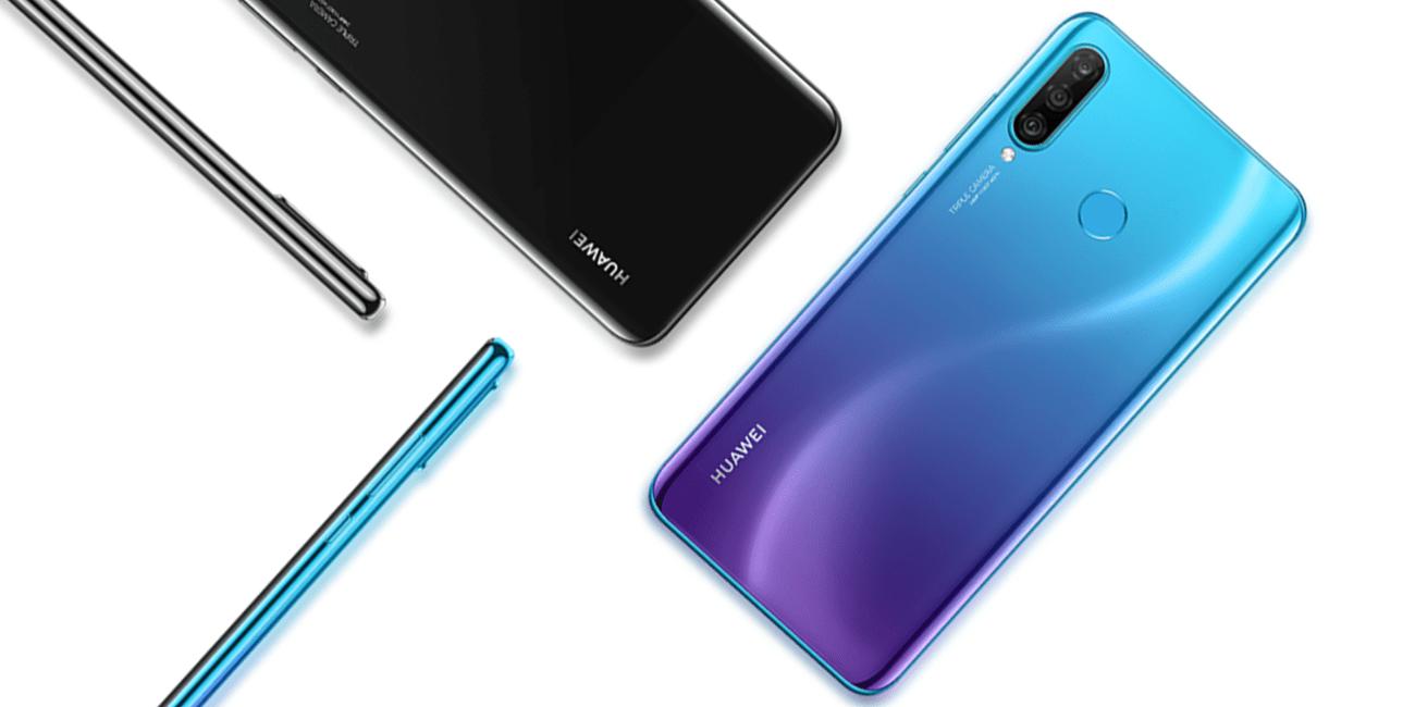 Huawei P30 Lite es oficial: triple cámara, notch compacto y lector de huellas trasero