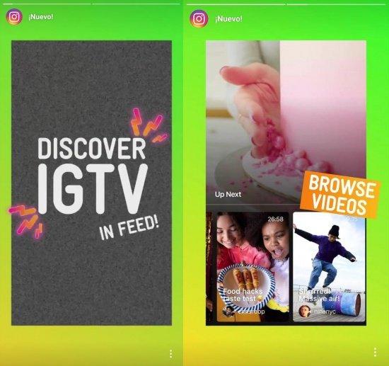 Imagen - Instagram ya muestra los vídeos de IGTV en el timeline