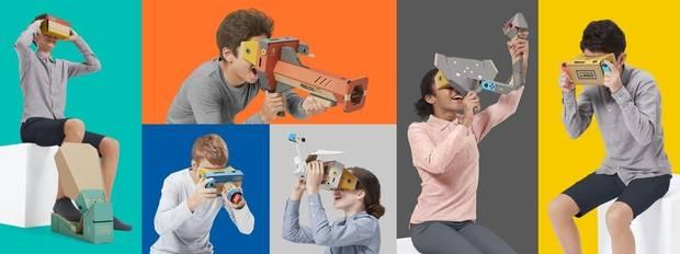 Imagen - Labo VR Kit, la realidad virtual económica para Nintendo Switch