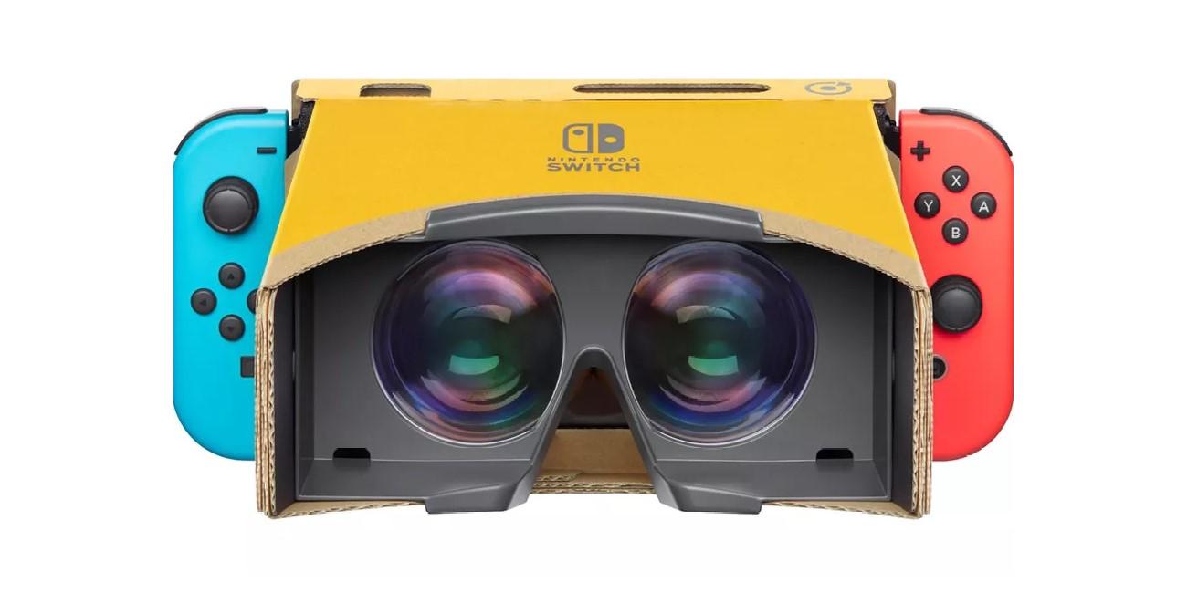 Labo VR Kit, la realidad virtual económica para Nintendo Switch