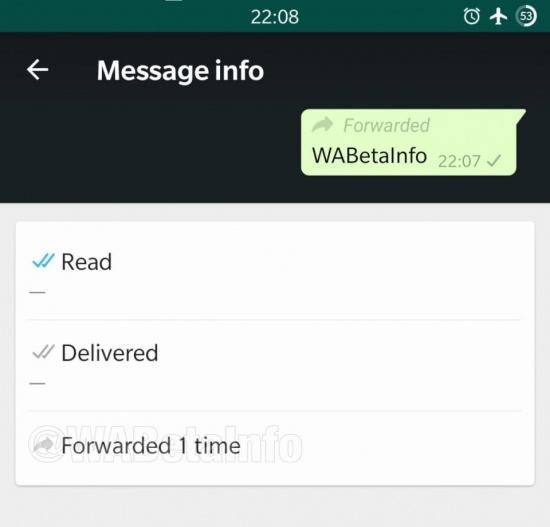 Imagen - WhatsApp indicará si un mensaje es reenviado con frecuencia para luchar contra los bulos