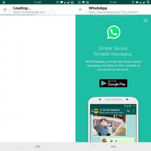 Imagen - WhatsApp abrirá los enlaces en un navegador interno