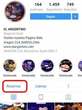 Imagen - Los usuarios de Instagram podrán reservar restaurante desde la app