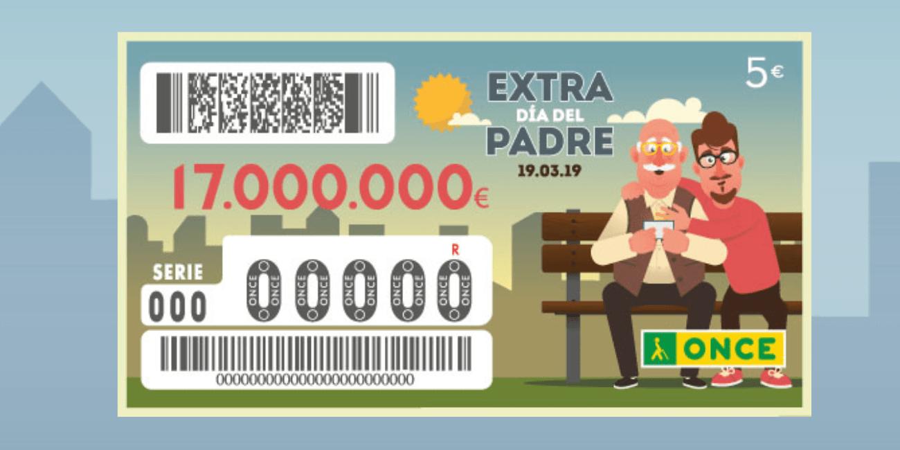 Cómo comprobar el resultado del Sorteo ONCE Extra Día del Padre 2019