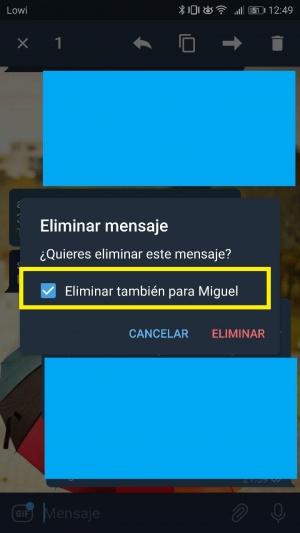Imagen - Telegram ya permite borrar cualquier mensaje y mejora su buscador de GIFs y emojis