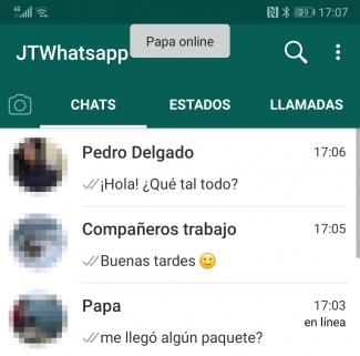 Imagen - Descarga WhatsApp Plus JiMODs 7.90 con aviso de Estados borrados y contactos online
