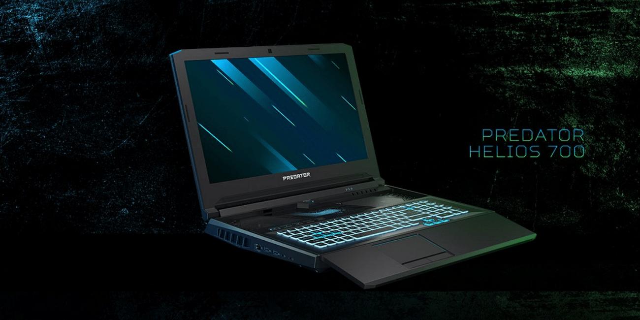 Acer Predator Helios 700, el portátil gaming con teclado deslizante y pantalla a 144 Hz
