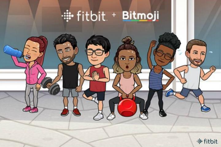 Imagen - Fitbit añade los emojis personalizados de Bitmoji a la esfera de sus smartwatches