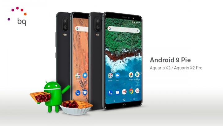 Imagen - BQ Aquaris X2 y X2 Pro reciben Android 9 Pie