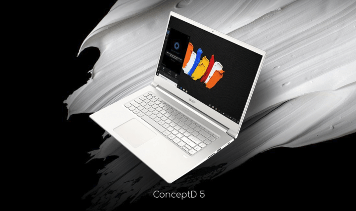 Imagen - ConceptD 9, el portátil con pantalla giratoria de Acer destinado a los creadores