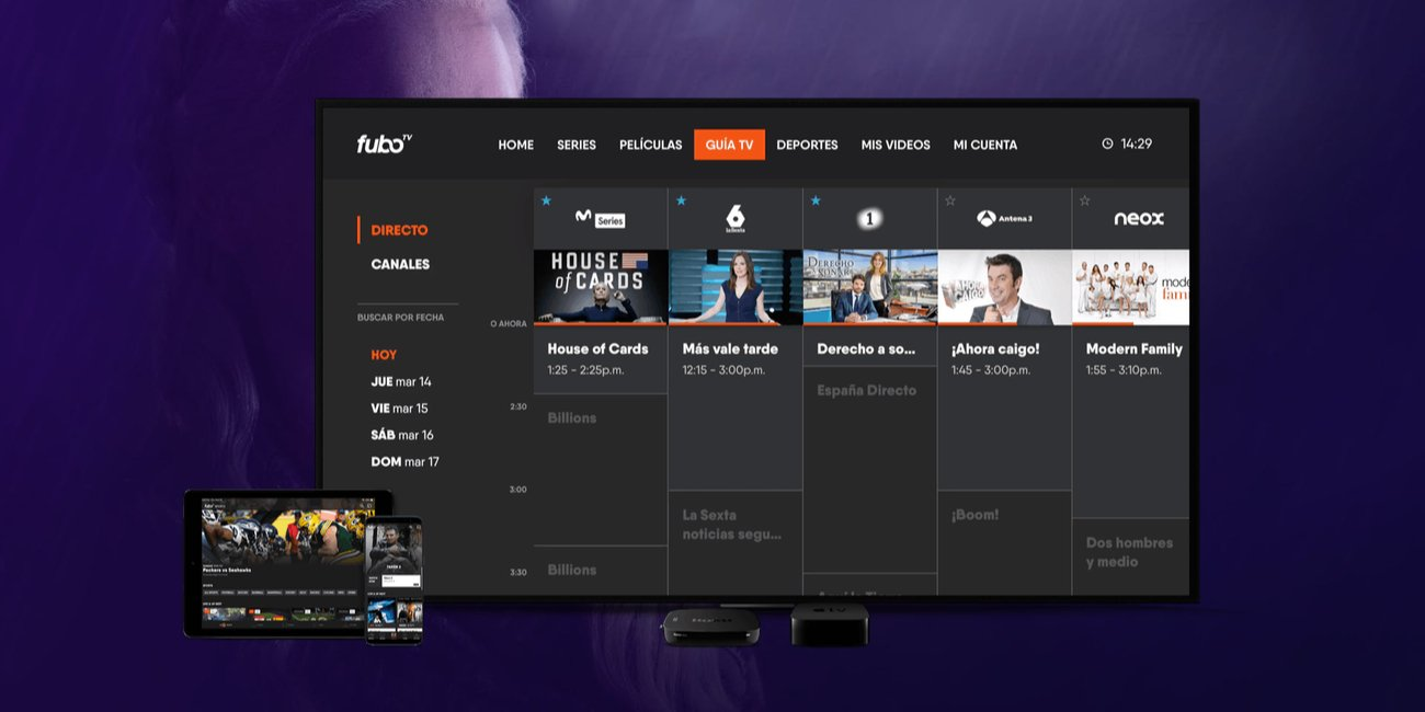 FuboTV ya disponible: TDT en streaming, Movistar Series y Juego de Tronos desde 2,99 euros