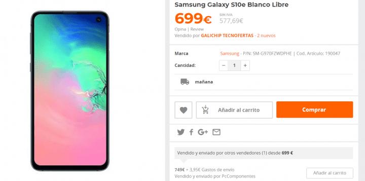 Imagen - Dónde comprar barato el Samsung Galaxy S10e
