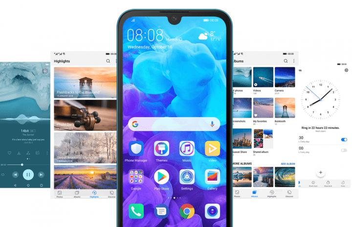 """Imagen - Huawei Y5 2019: 5,7 pulgadas, notch compacto y acabado en """"cuero"""" para la gama de entrada"""