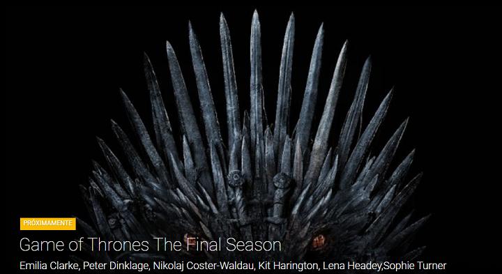 Imagen - Cómo ver online la 8ª temporada de Juego de Tronos