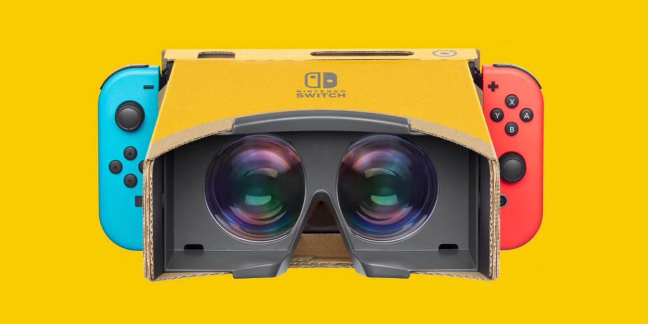 Nintendo Labo: Kit de VR ya está disponible para usar la realidad virtual en Switch