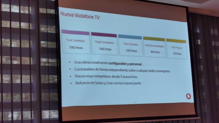 Imagen - Vodafone TV se renueva: packs de canales temáticos y nuevo contenido de Starzplay
