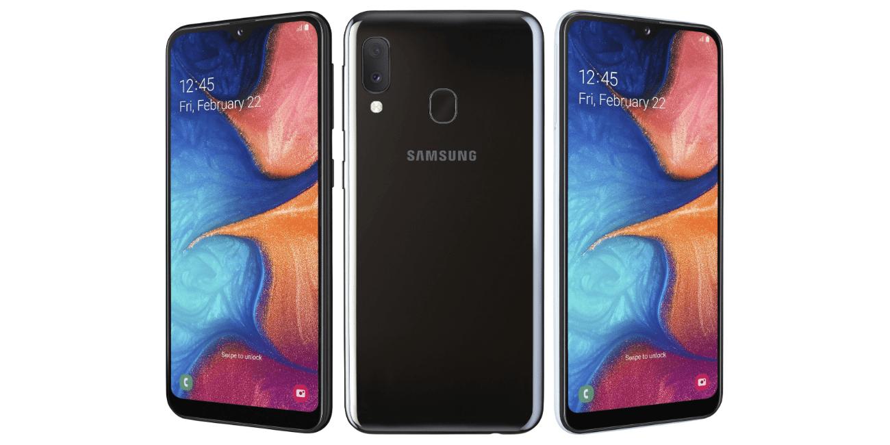 Samsung Galaxy A20e: cámara dual, batería de 3.000 mAh y carga rápida en la gama básica