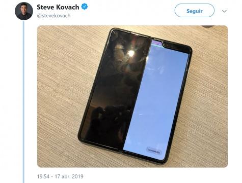 Imagen - Samsung Galaxy Fold sufre problemas en su pantalla plegable