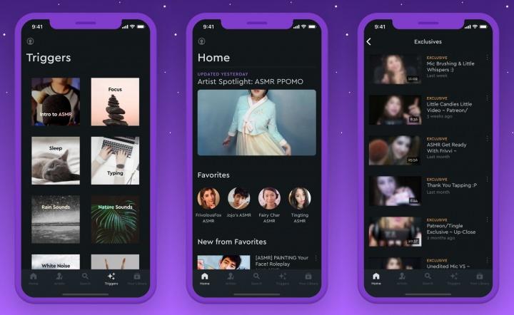 Imagen - Tingles, una app con ASMR para Android y iOS