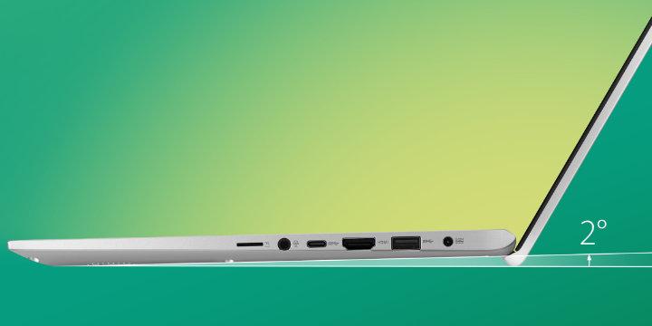 Imagen - Asus VivoBook 14 y 15, los portátiles con pantalla sin biseles y teclado elevado ErgoLift