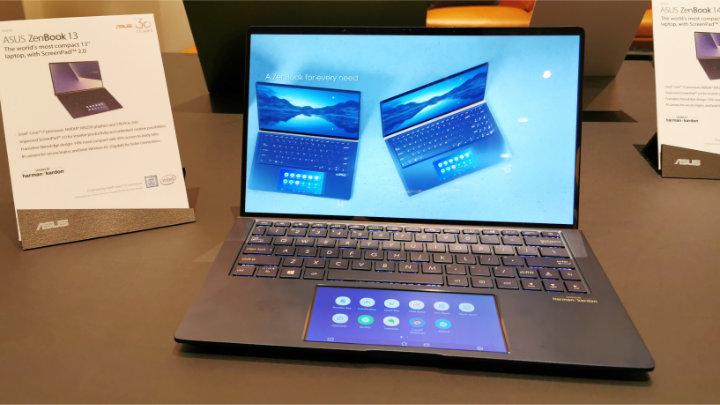 Imagen - Asus ZenBook 13, 14 y 15: diseño sin biseles, touchpad con pantalla y edición en cuero
