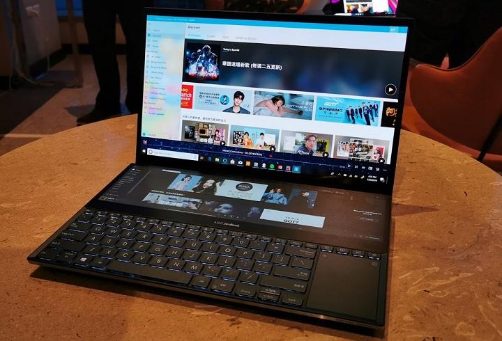 Imagen - Asus ZenBook Pro Duo, los portátiles con pantalla secundaria ScreenPad Plus 4K