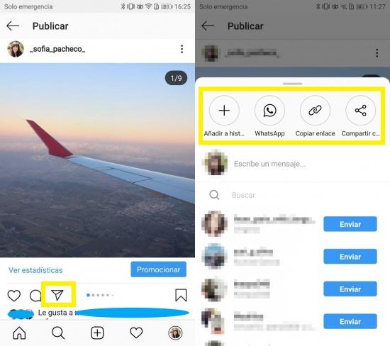 Imagen - Instagram ya deja compartir las publicaciones en otras apps