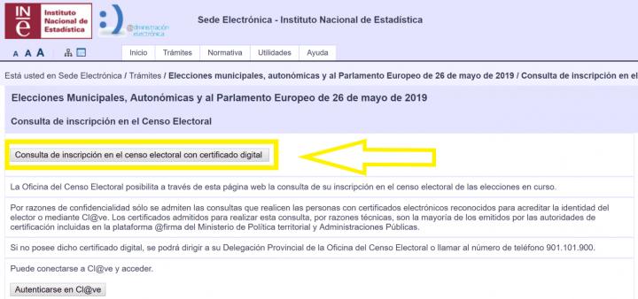 Imagen - Elecciones del 26-M: consulta online la mesa y colegio electoral
