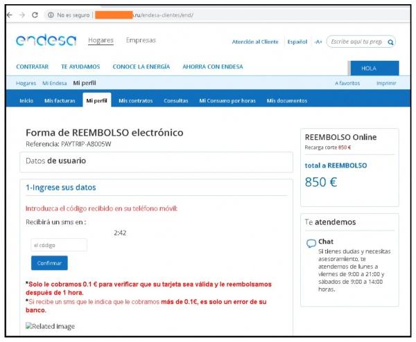 Imagen - Cuidado con el falso correo de Endesa con un reembolso de 850 €