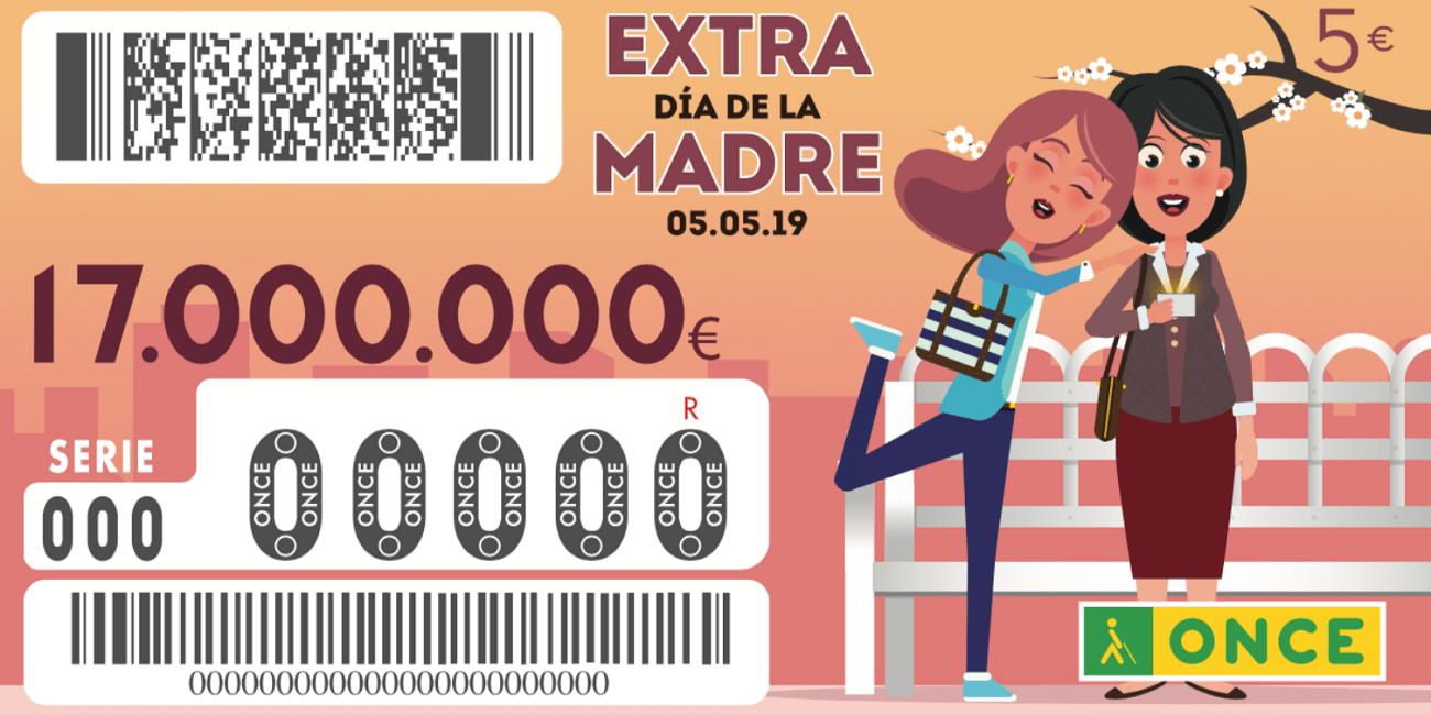 Cómo comprobar online el resultado del Sorteo ONCE Extra Día de la Madre 2019
