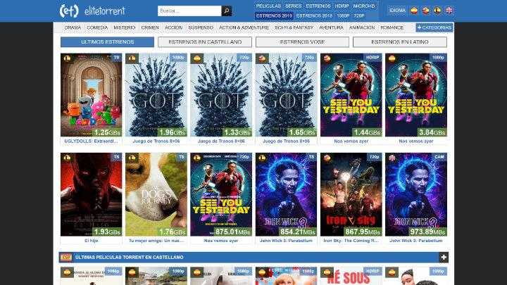 Imagen - EliteTorrent lanza un nuevo dominio para saltarse los bloqueos