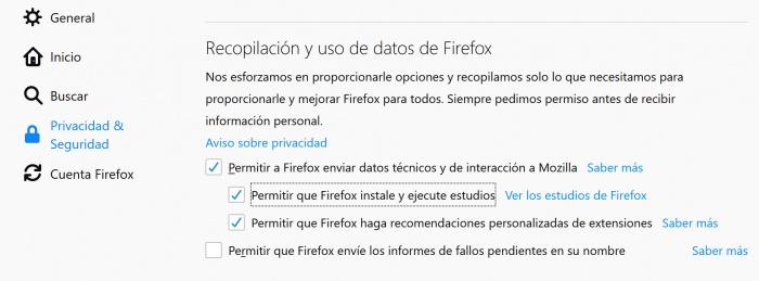Imagen - Las extensiones de Firefox dejan de funcionar por un problema en un certificado