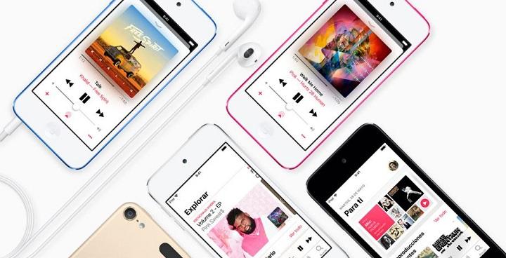Imagen - iPod touch se renueva: chip A10 Fusion y soporte para FaceTime y realidad aumentada