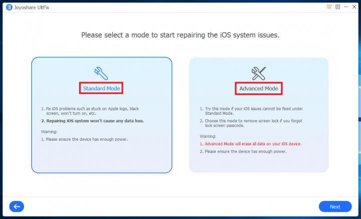 Imagen - Review: Joyoshare UltFix-iOS System Recovery, repara fácilmente cualquier problema de iOS