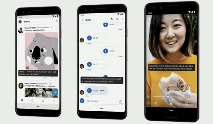 Imagen - Android 10 Q llegará con soporte para terminales plegables, modo oscuro y más